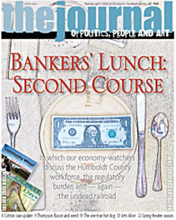 Bankers' Lunch: Second Course
