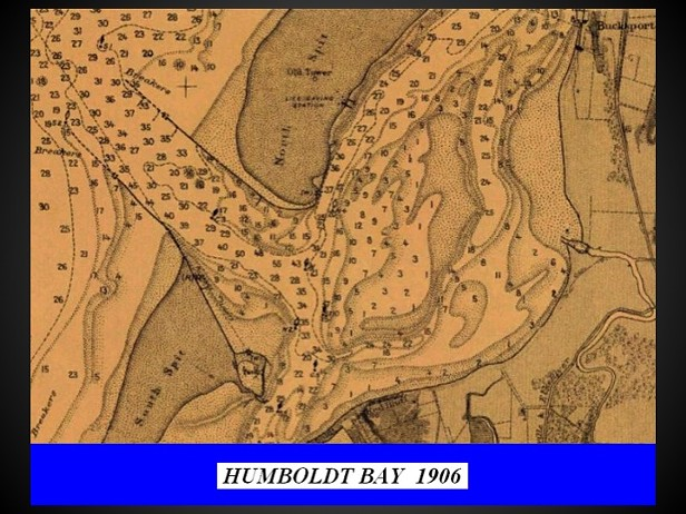 Charts of Humboldt Bay