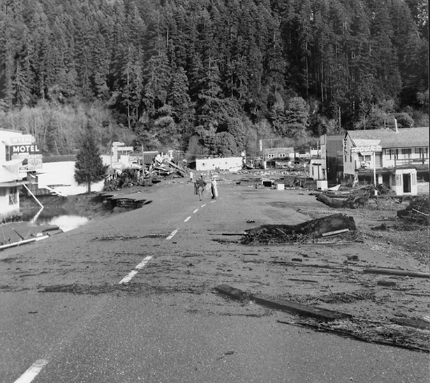 1964 Flood — Eel River, Pepperwood and Weott