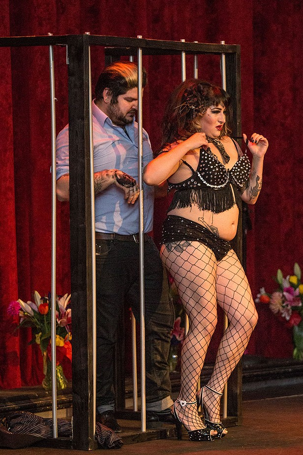 Alley Cat Cabaret & Purrlesque 2015