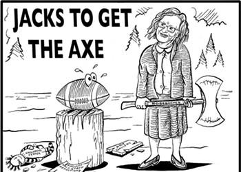 Jacks to get the Axe