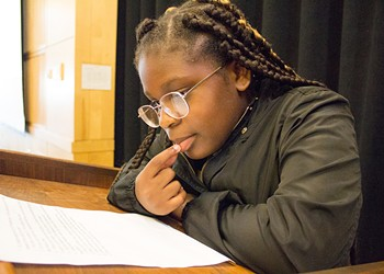 Sixth Grader Shares her Experiences with Racism in Arcata