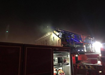 Update: Three Alarm Fire in Eureka at Apartments on California Street