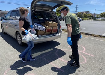 Food for People Launches Series of Free Drive-Through Produce Distributions