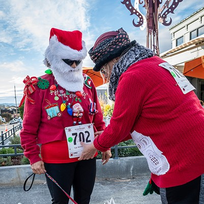Ugly Holiday Sweater Run 2018