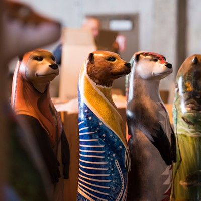 North Coast Otters Public Art Initiative Otter Sculptures Preview