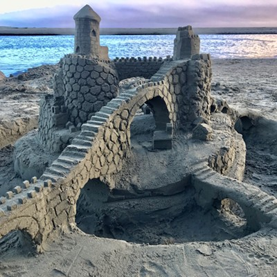 Winners of the 25th Annual Dispersed Sand Sculpture Festival