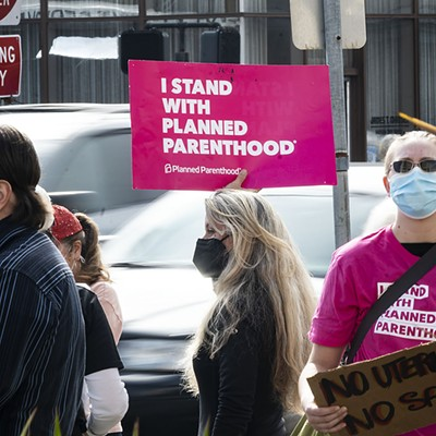 Eureka Rally for Reproductive Rights