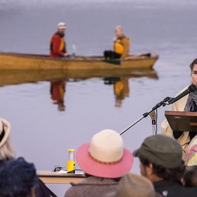 Lantern Floating Ceremony 2015