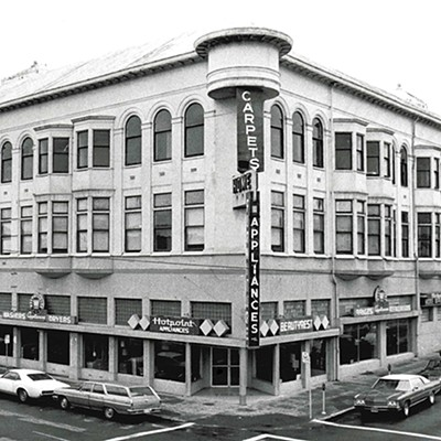 Carson Block Building Restoration - Archival Photos