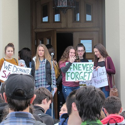 Walkout at Eureka High School
