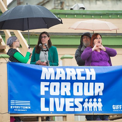 March for Our Lives Arcata 2018