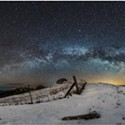 North Coast Night Lights: Milky Way Over Kneeland Snow