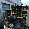 Alarms Leads Deputies to Apparent Hash Lab Stash in McKinleyville Storage Facility