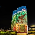 North Coast Night Lights: Art Utility Boxes of Eureka: Marine Life Triptych