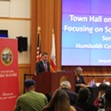 Bass Announces $4.8 Million Federal Grant, Ramped Up Needle Disposal Efforts at Packed Opioid Town Hall