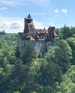 "PHOTO BY BARRY EVANS - Castle Bran (""Dracula's castle""), Transylvania, in which Vlad III ""the Impaler"" may have been briefly imprisoned."