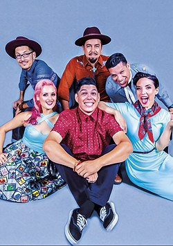 COURTESY OF THE ARTISTS - Las Cafeteras plays the Van Duzer Theatre at 8 p.m. on Friday, Aug. 24.