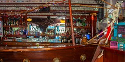 PHOTO BY AMY KUMLER - Belly up to the bar, sailor.