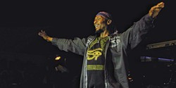 BOB DORAN - Jimmy Cliff at Reggae on the River.