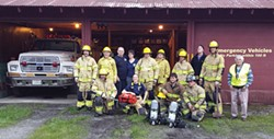 PHOTO COURTESY OF ORLEANS VOLUNTEER FIRE DEPARTMENT - Funds from Measure Z, Measure O's predecessor, are helping to build the Orleans Volunteer Fire Department's new station.