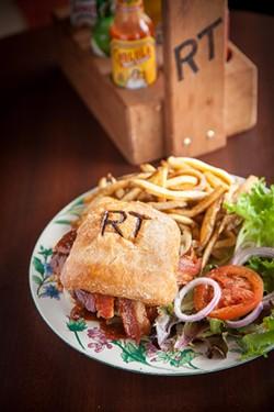 AMY KUMLER - The Western Cheeseburger at Ridgetop Café.