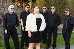 COURTESY OF THE ARTIST - Claire Bent & Citizen Funk play at the Palm Lounge at 9 p.m. on Friday, Nov. 23.