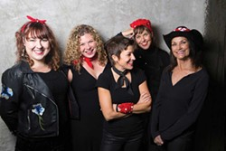 COURTESY OF THE ARTISTS - Ashleigh Flynn & the Riveters play the Historic Eagle House on Saturday, Dec. 15 at 7:30 p.m.