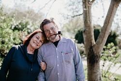 PHOTO BY LEÓN VILLAGÓMEZ - Eric and Viviana Hollenbeck.