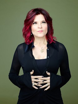 PHOTO BY MICHAEL LEVINE, COURTESY OF THE ARTIST - Rosanne Cash.