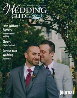 LEÓN VILLAGÓMEZ - Juan and Philip Anzada married in Ferndale on Sept. 26, 2015.