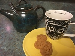 Death, Tea and cookies! - Uploaded by Dr. Gina Belton