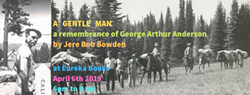 George Arthur Anderson, subject of A Gentle Man by Jere Bob Bowden - Uploaded by eurekabooksellers