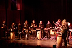 HSU Percussion Ensemble - Uploaded by fredbaby