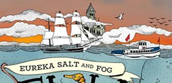 Eureka Salt and Fog Fish Festival Poster - Uploaded by mvmadaket1910