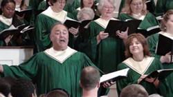Mike Gibbs, Soloist, Ferndale Community Choir - Uploaded by ferndalechoir