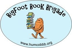 Join us May 15 to support the Bigfoot Book Brigade - Uploaded by Jana Litt