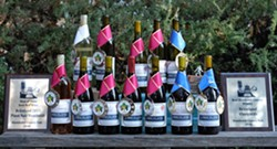 Best Winery, Best Red, Best White, Best Pinot, Best of Show, 2018 HC Fair - Uploaded by Briceland Vineyards Winery