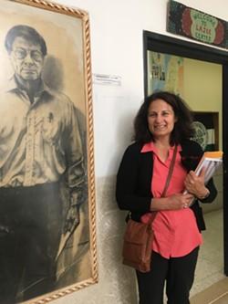 Prof. Janet Winston Lajee Center, Aida Refugee Camp, Bethlehem - Uploaded by JM