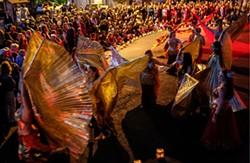 Nick Adams Belly Dancer Creamery Festival - Uploaded by Arcata Playhouse