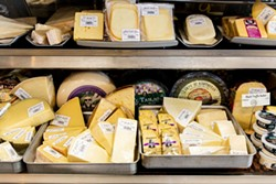 AMY KUMLER - The cheese case.