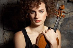 Liana Bérubé, soloist - Uploaded by Eureka Symphony