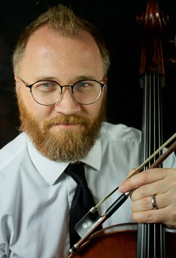 Cellist Garrick Woods - Uploaded by fredbaby