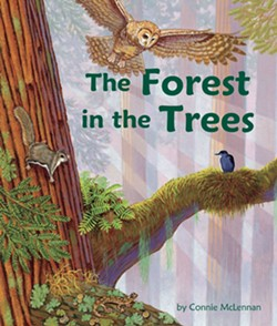 A new picture book for children ages 3-8 explores the plants and animals that live in the high branches of the ancient redwoods. - Uploaded by Eureka Books 1
