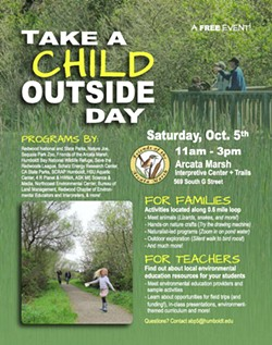 Take A Child Outside Day event flier - Uploaded by Allison Poklemba