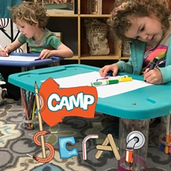 Campers will learn to innovate and exercise their problem solving skills by learning about art concepts and creative reuse! - Uploaded by Education SCRAP Humboldt