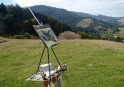 Painting En Plein Air - Uploaded by Liz Klopper