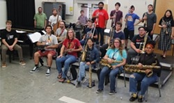 HSU Jazz Orchestra - Uploaded by fredbaby
