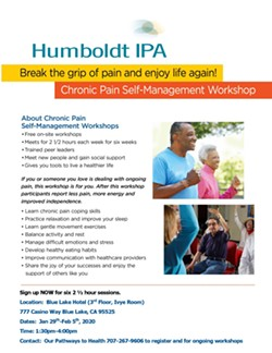 Free Chronic Pain Self-Management Workshop - Uploaded by Maria Mueller