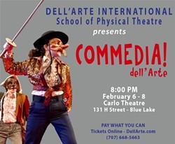 Commedia dell'Arte - Uploaded by Dell'Arte Public Relations